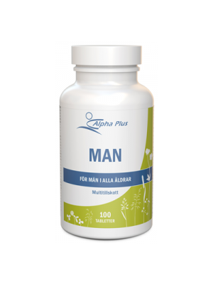 Man/ Multivitamin tillskott