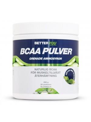 Naturligt BCAA Pulver 250 g, Äpple/Fäder