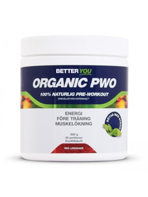 Organic PWO 300 g/ Red Lemonade