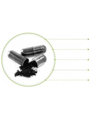 Activated Charcoal / Mot gaser, uppblåsthet och för detoxing