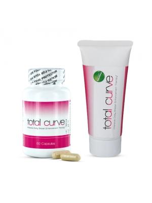 Total Curve Dubbelpack | Bröstförstoringsgel & piller